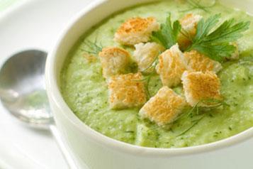 Potages, veloutés, soupes 23-Creme-de-poireaux-au-gingembre-Fotolia_25160485_XS