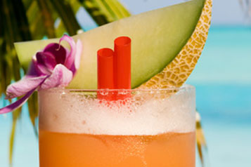 Cocktail au melon