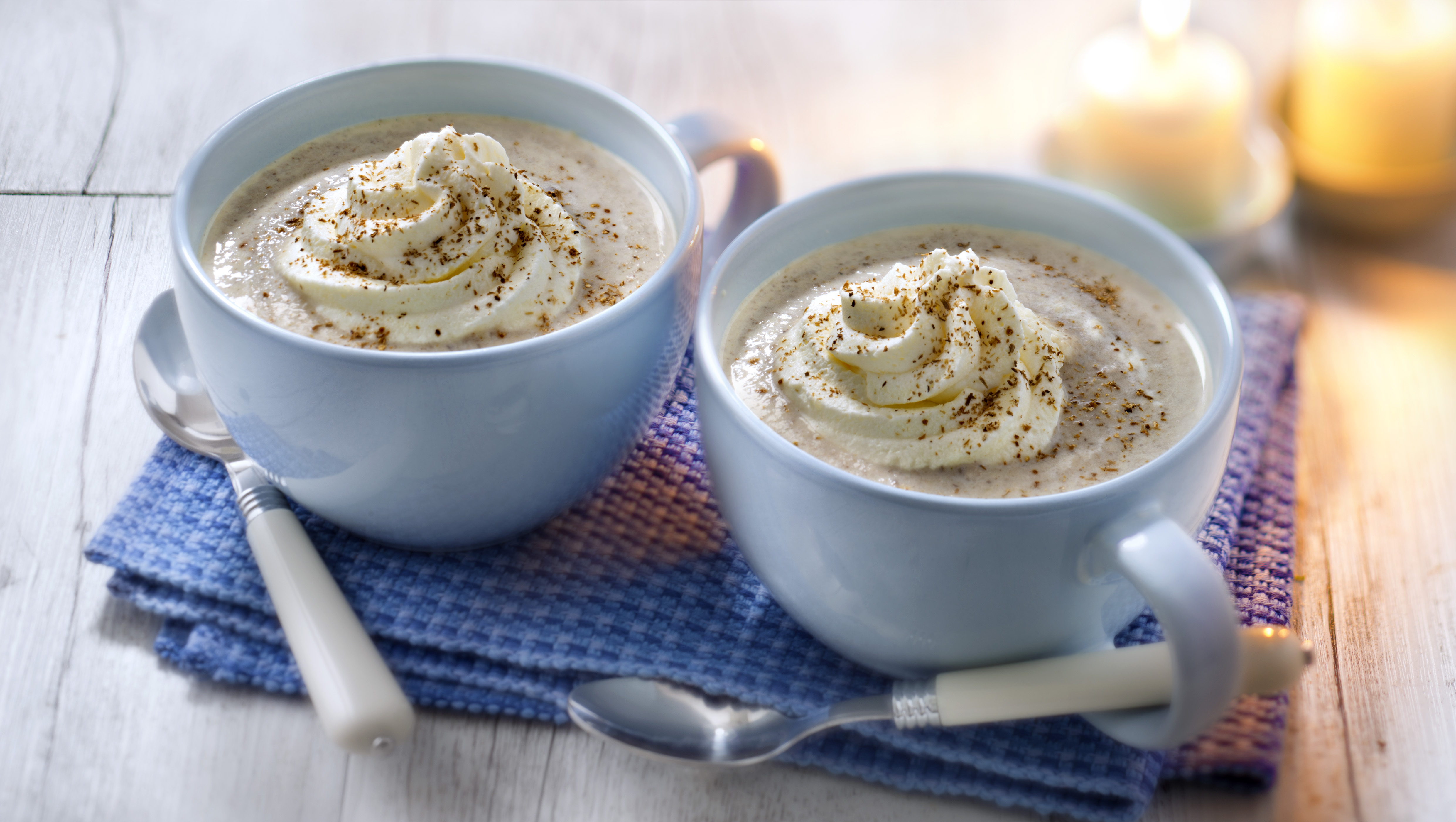 Cappuccino aux cèpes