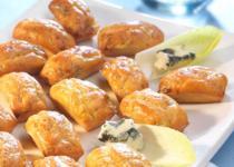 Minis cakes endives roquefort