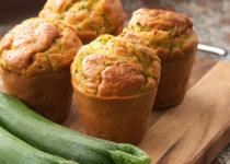 Muffins courgettes - parmesan