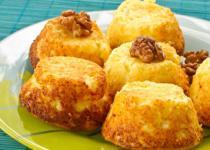 Muffins miel - noix