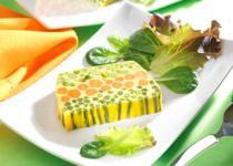 Terrine aux trois légumes