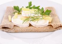 Crêpes aux 4 fromages