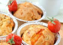Muffins tomate mozzarella