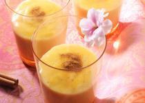 Crème à la cannelle et fleur d'oranger