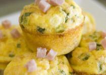 Muffins jambon - fines herbes
