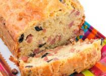 Cake pruneaux et lardons
