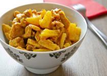 Curry de volaille express