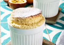Soufflé orange, passion
