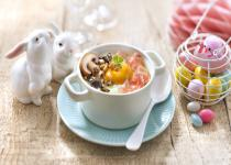 oeufs cocotte forestiere